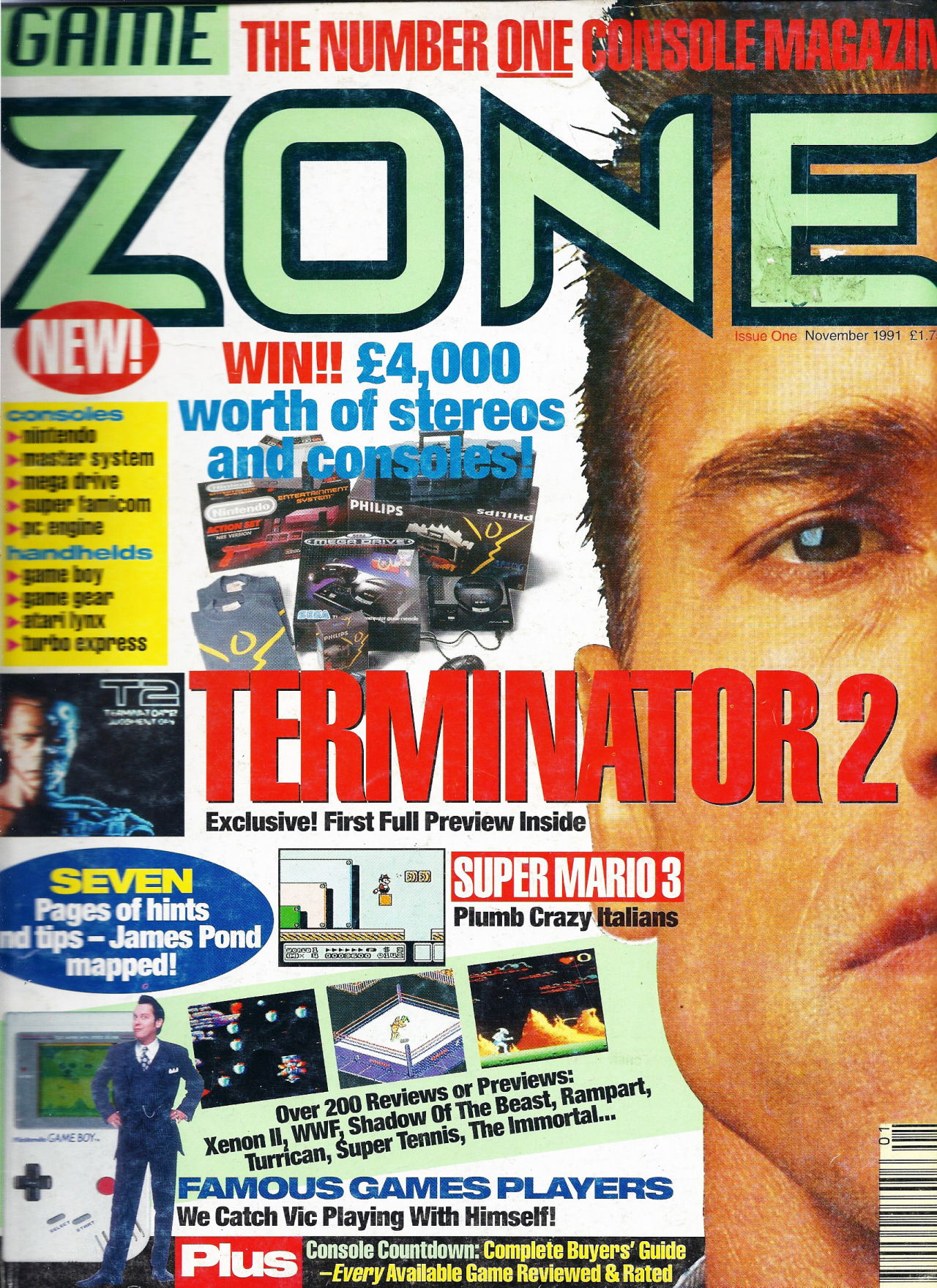 Console Magazine Old Game Mags Game Zone Magazine Claims To The Be The The