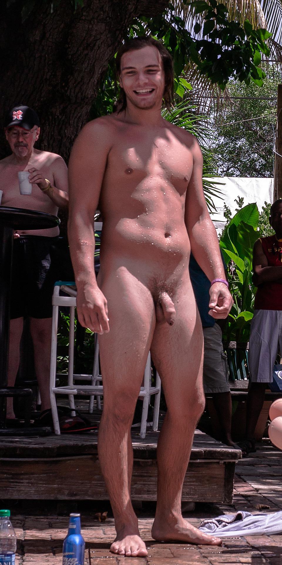 wife big cock public