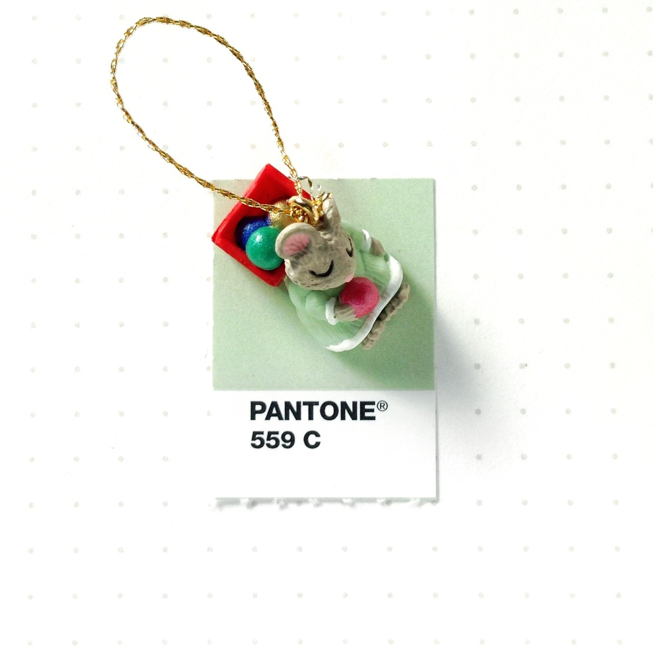 Pantone Christmas Ornaments Tiny Pms Match
