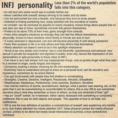 infj personality Tumblr