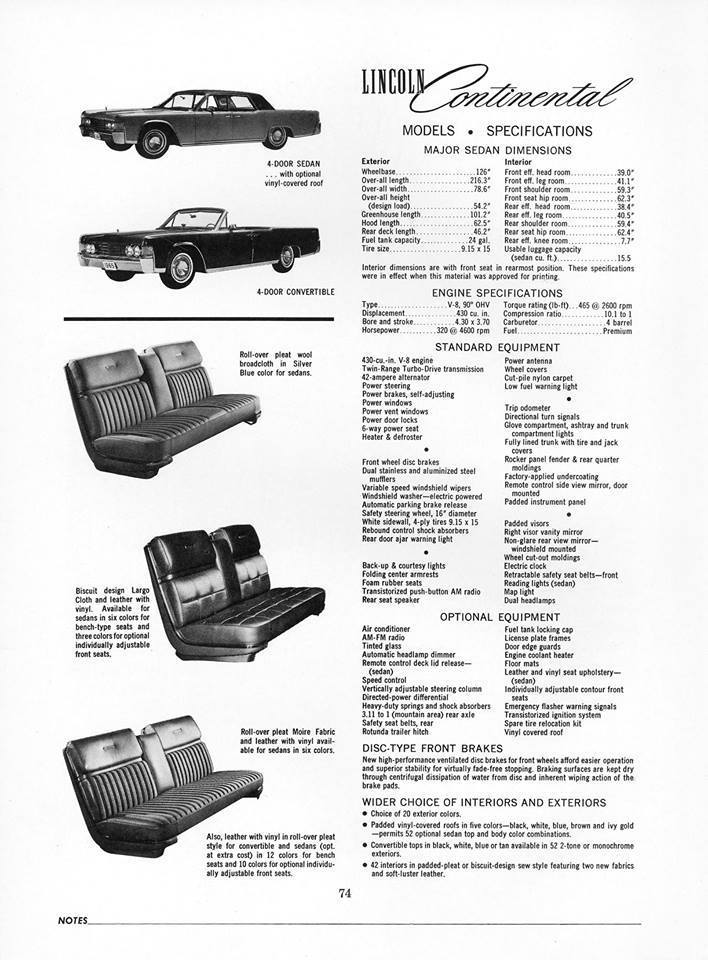 1969 lincoln continental 2 door