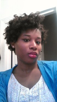 colored natural hair on Tumblr