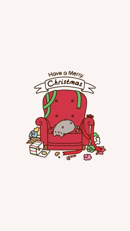Cute Girl Wallpaper Sims 3 Pusheen Christmas Tumblr
