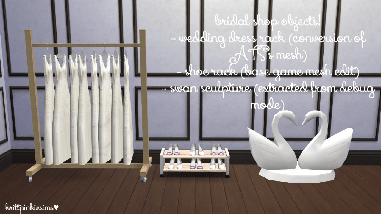 Sims 4 Dylan Sofa Beds Sja4ever Brittpinkiesims The Sims 4 Bridal Shop