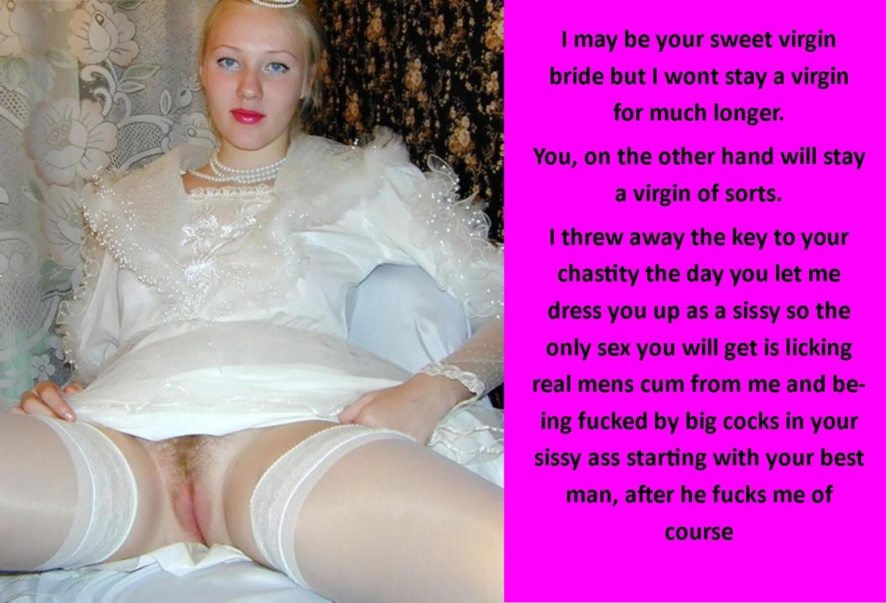 permanent chastity captions