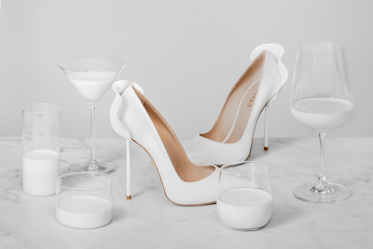 Silla Cuore Le Silla Shoe Perfection Le Silla Petalo Pump In White