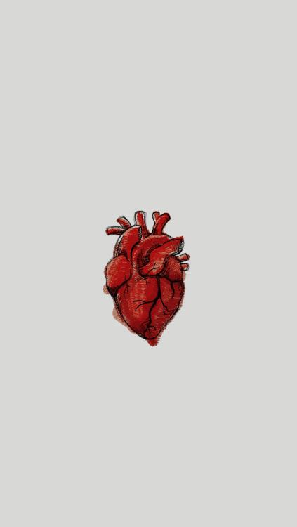 Cute Red Heart Wallpapers Minimalist Art On Tumblr