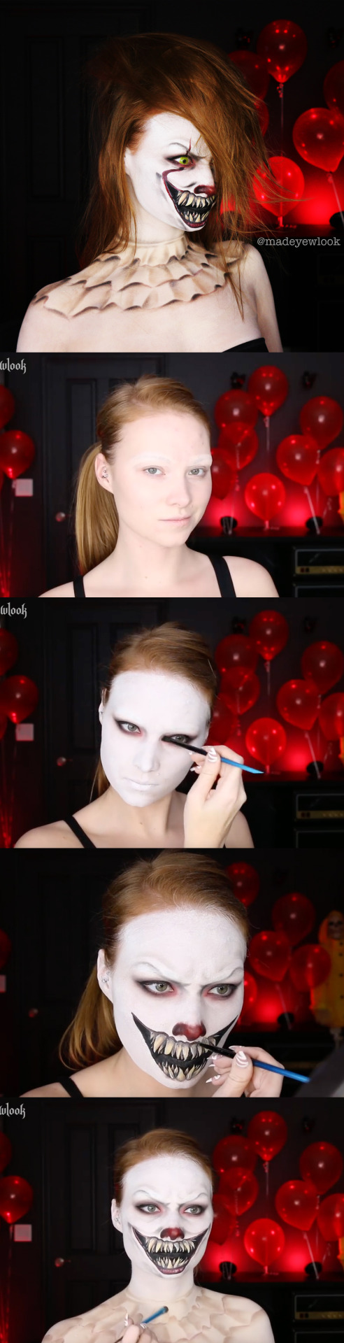 Halloween Make Up Anleitung Halloween Makeup Tumblr