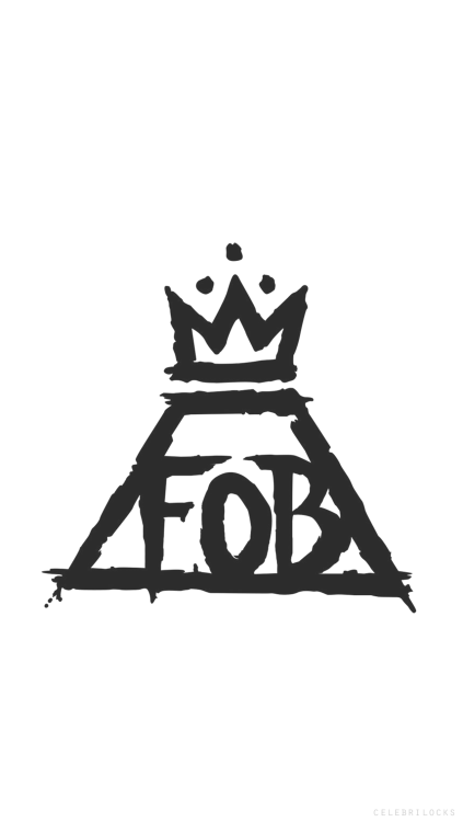 Fall Out Boy Logo Iphone Wallpaper Panic At The Disco Logo Tumblr