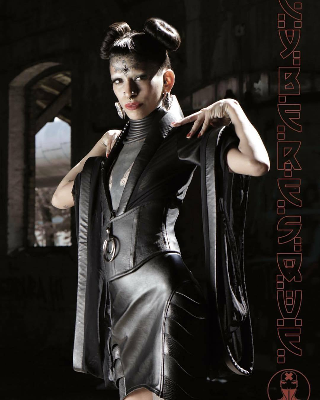 Berlin Gothic Cyberesque Ravishing Fashion From Berlin This Woman