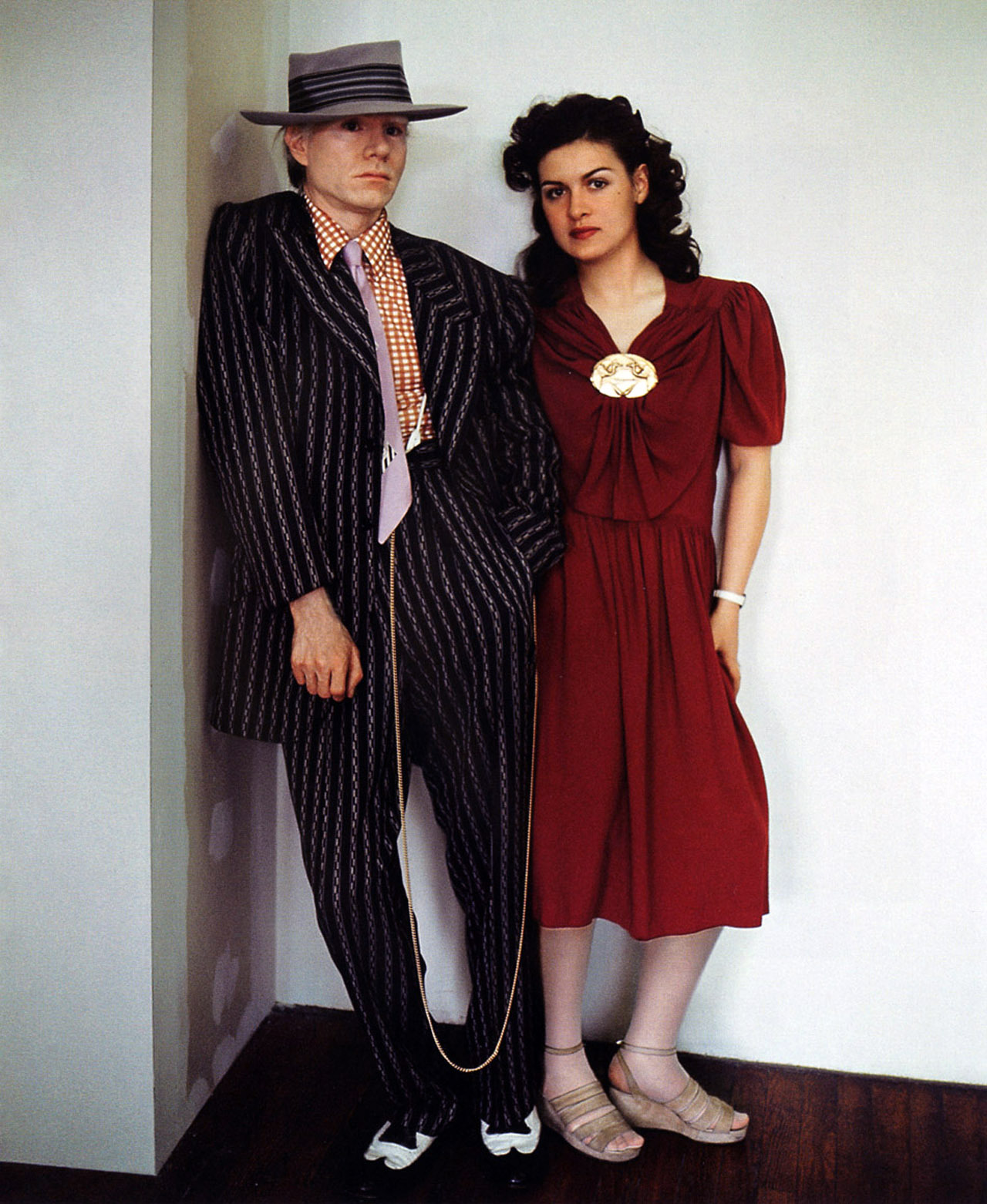 Paloma Picasso Voxsartoria Andy Warhol With Paloma Picasso