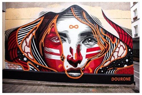 streetartglobal:  Incredible work by @dourone in Paris. [http://globalstreetart.com/dourone] #GlobalStreetArt #Dourone https://www.instagram.com/p/BL4gWeQgmXc/
