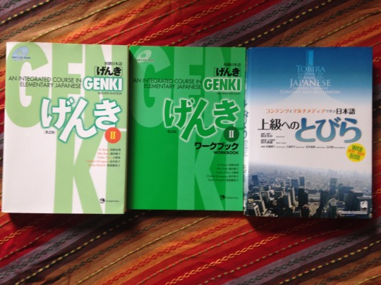 genki textbooks Tumblr