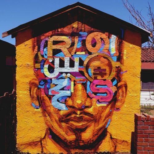 streetartglobal:  More great work by @samrodriguezart#globalstreetart #unitedstates #fresh #typefacehttp://globalstreetart.com/samrodriguezart https://www.instagram.com/p/BH2IdjAjDwY/
