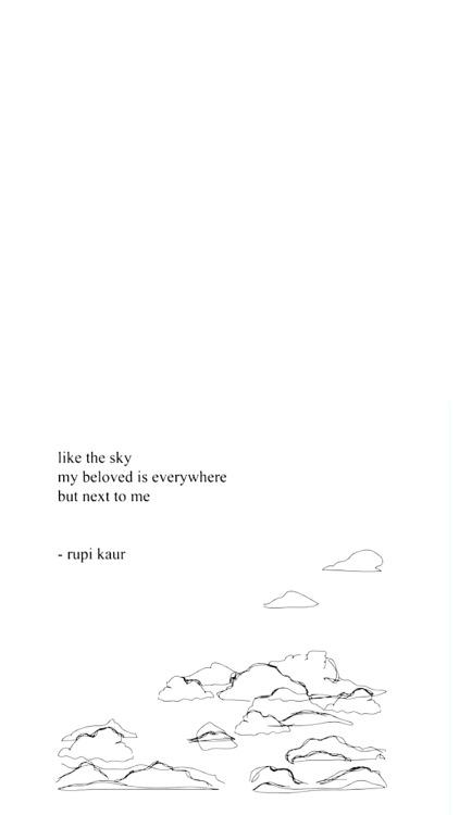 Milk And Honey Quote Wallpapers Rupi Kaur Wallpaper Tumblr