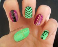 My homage to Pretty Nail Swag (do I even need to...