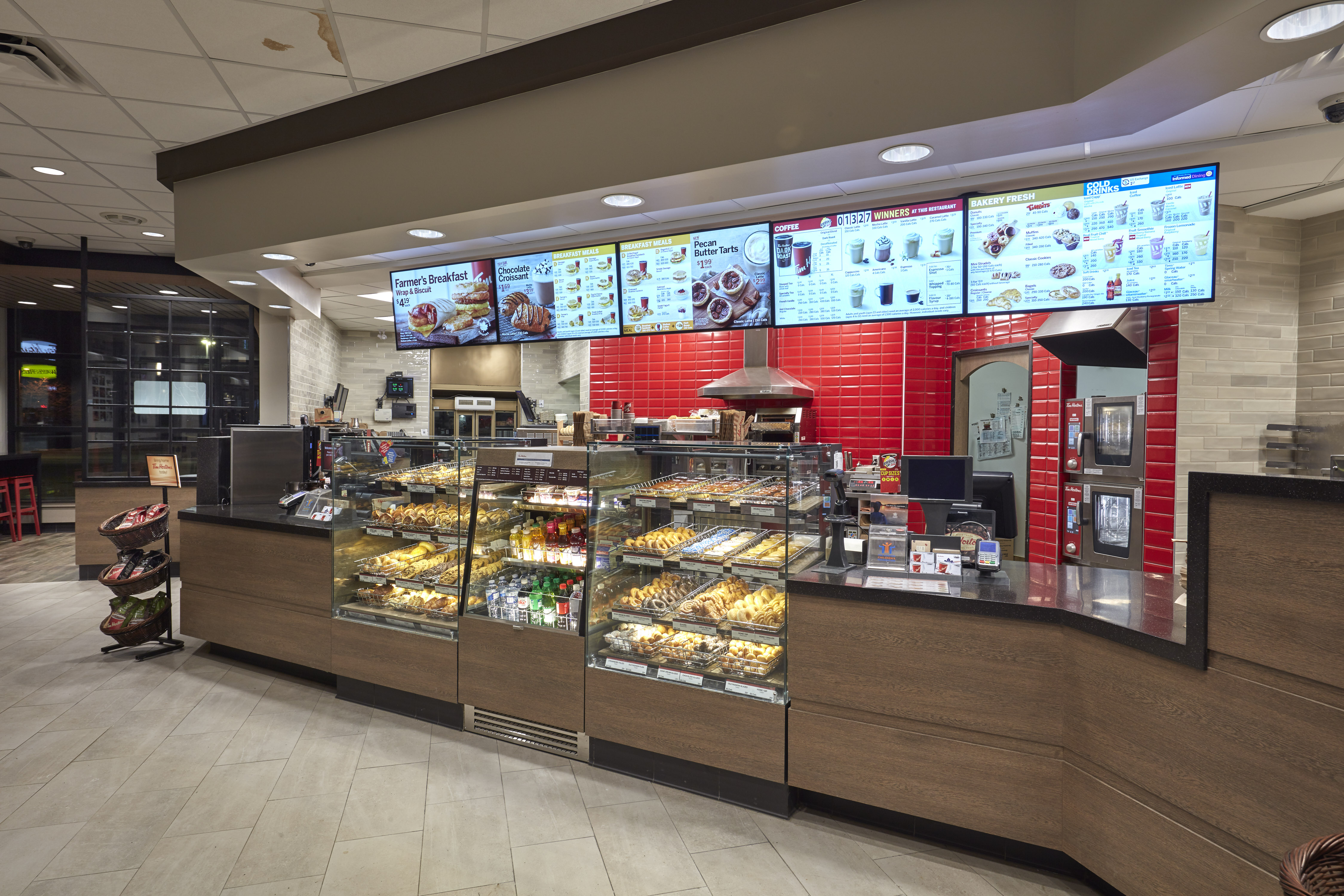 Canadian Stores Tim Hortons Says It Will Redesign Most Of Its Stores
