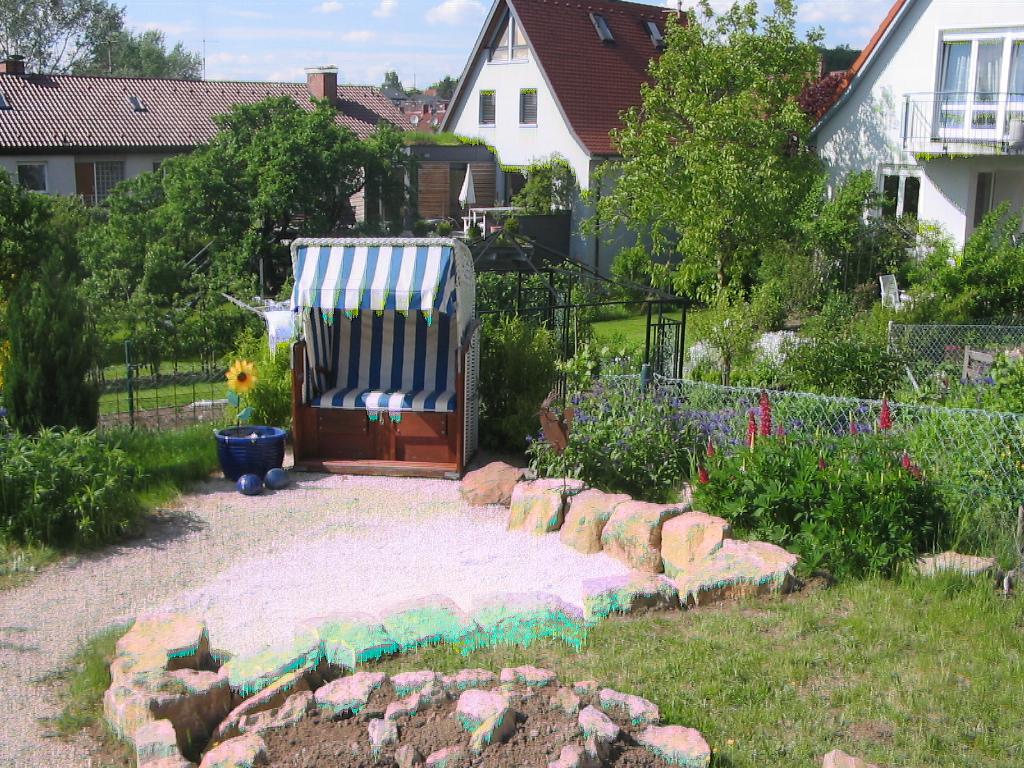 Outdoorküche Garten Forum : Baumbank selber bauen mein schöner garten sauna im garten selber