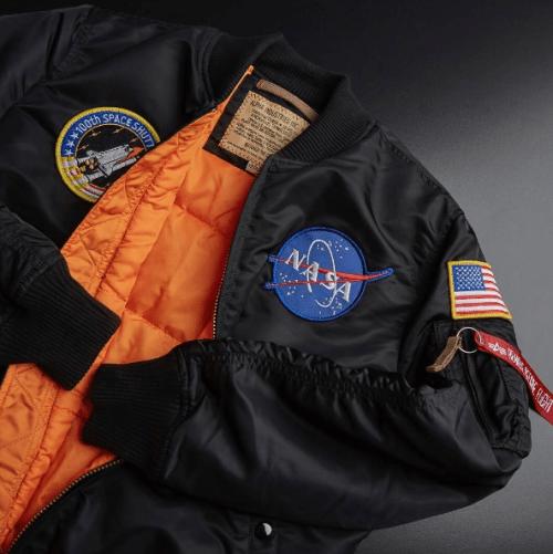 crispculture:  Alpha Industries MA-1 VF NASA Jacket - Order Online at END.