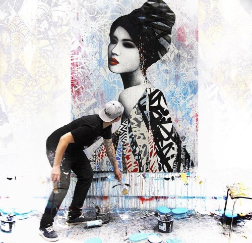 zeds:  Artist Hush ~ Something for the MTV RE:DEFINE Auction.