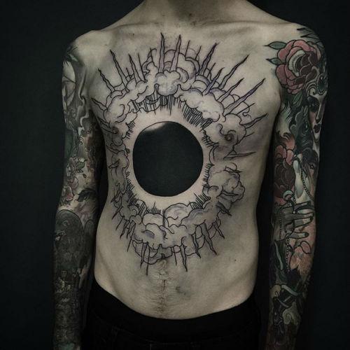 thievinggenius:  Tattoo done by Pari Corbitt.