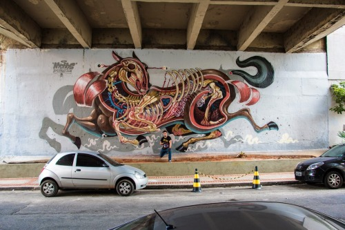 coloursxart:  By Nychos - Located in Brasil
