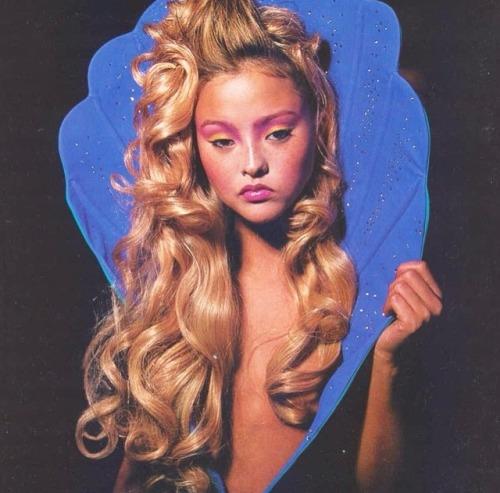miragezine:Taken from Sassy World | Devon Aoki in Jeremy Scott (2001)