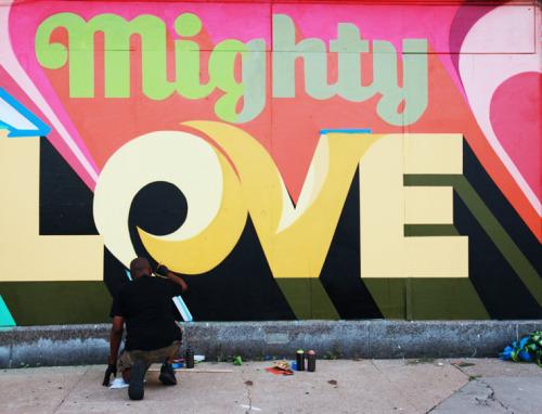 brooklynstreetart:  CEY Adams fresh jointDETROIT Day 4 with Murals in the Markethttp://www.brooklynstreetart.com/theblog/2016/09/22/detroit-murals-in-the-market-dispatch-4-the-beat-of-the-street-and-mighty-love/@1xRUN #20xLOVE @ceyadams #muralsinthemarket