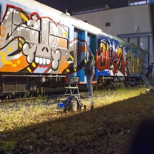 spraydaily:  @smd_club in action!—#graffiti #SprayDaily #граффити #Grafiti #spraycanart #sprayart #Graffity #Instagraff #Graff #smdclub #smdcrew