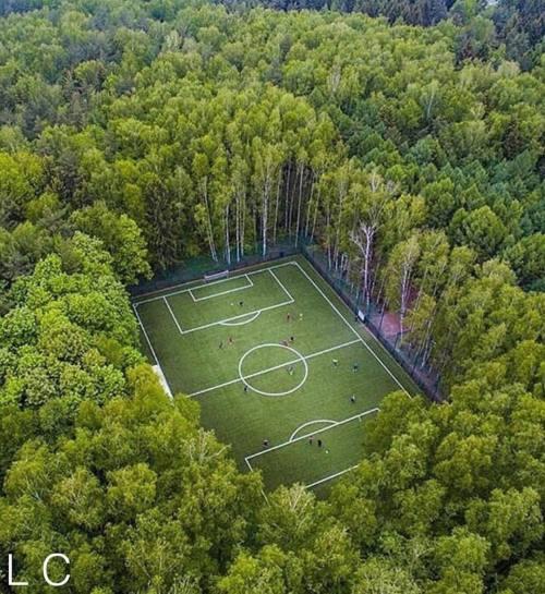 luxuriousclub:    Unbelievable Forest Soccer Feild In Moscow, Russia  Tag A Friend! Spread the Wealth!LuxuriousClubNewYork.Com   #LuxuriousClub _______________________________#luxurious #luxurylife #billionaire #luxury #paris #france #dubai #italy #nyc #rollsroyce #ferrari #bugatti #bentley #rolex #lamborghini #newyork #likeforlike #quotes