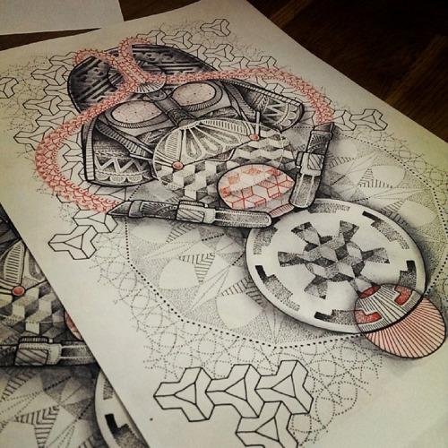 thievinggenius:Done by Paul Davies Loki.  https://instagram.com/paulokink/