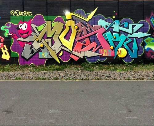 madstylers:  MOST JBCB@thatsallmost _______________________#madstylers #graffiti #graff #style #colorful #stylewriting #summer #sprayart #graffitiart http://ift.tt/2czplyq