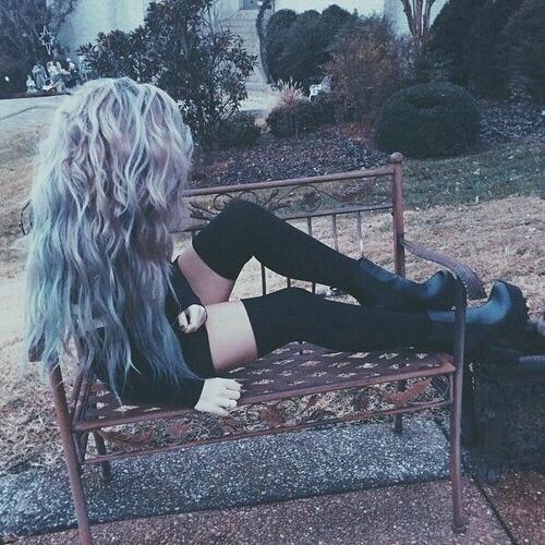 Dreads Girl Wallpaper Wavy Scene Hair Tumblr