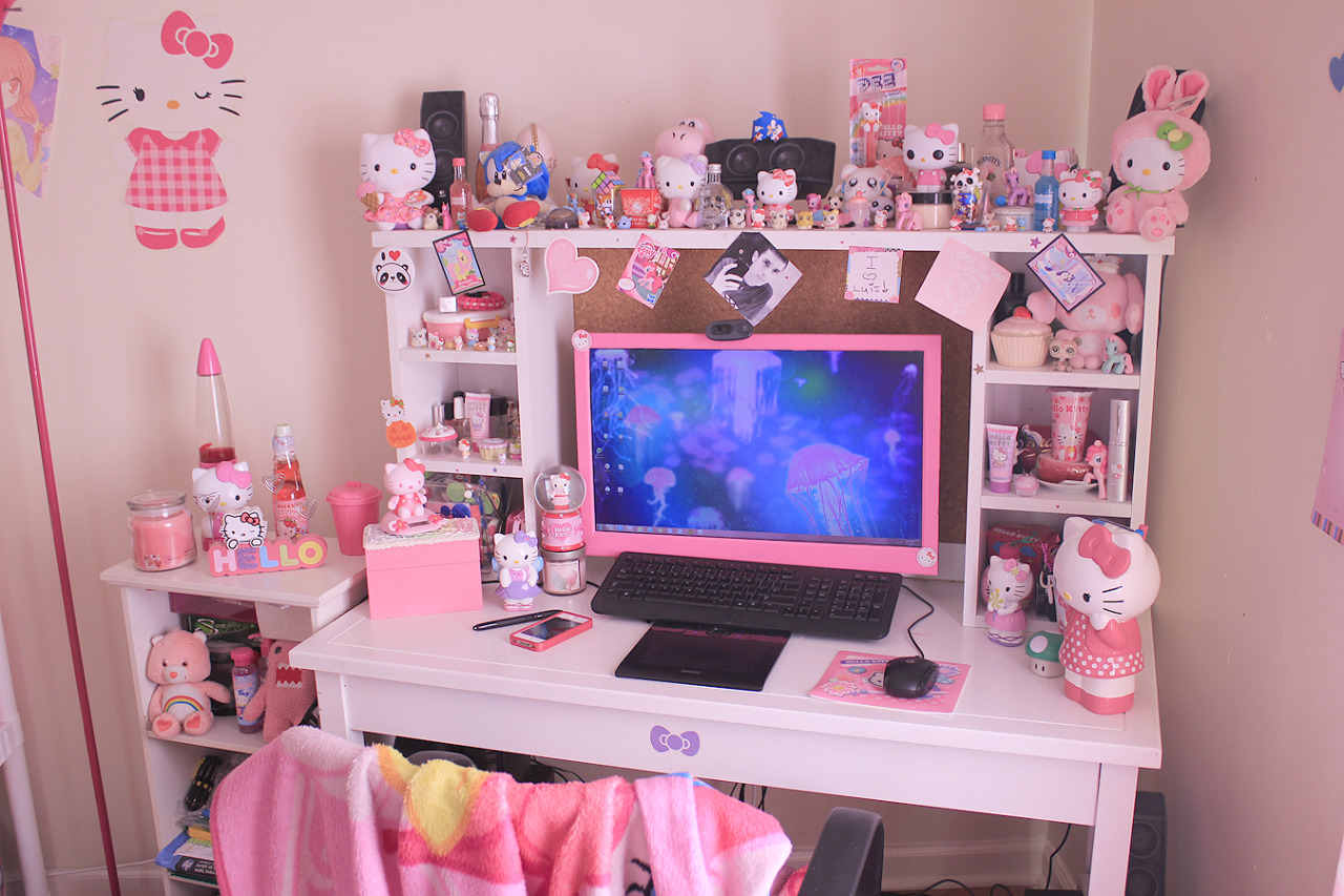 Bedroom Desk Tumblr Teen Mermaid Photo