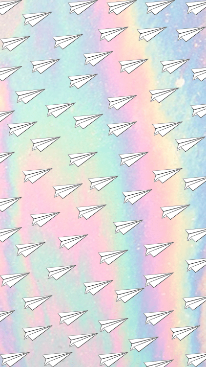 Hipster Iphone Wallpaper Quote Paper Airplane Wallpaper Tumblr