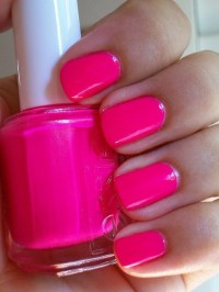 hot pink nails on Tumblr