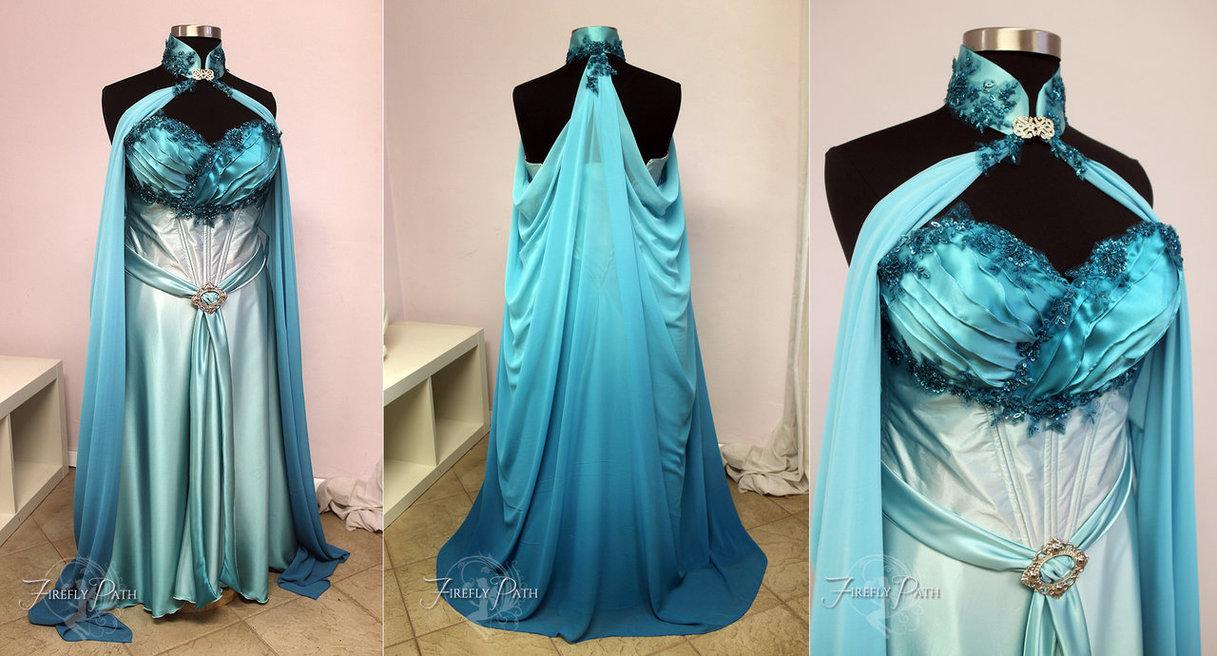 elvish wedding dress