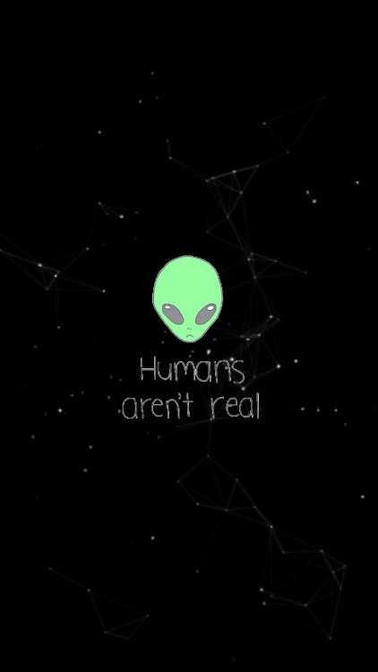 Sad Quotes Wallpaper For Iphone Alien Lockscreen Tumblr