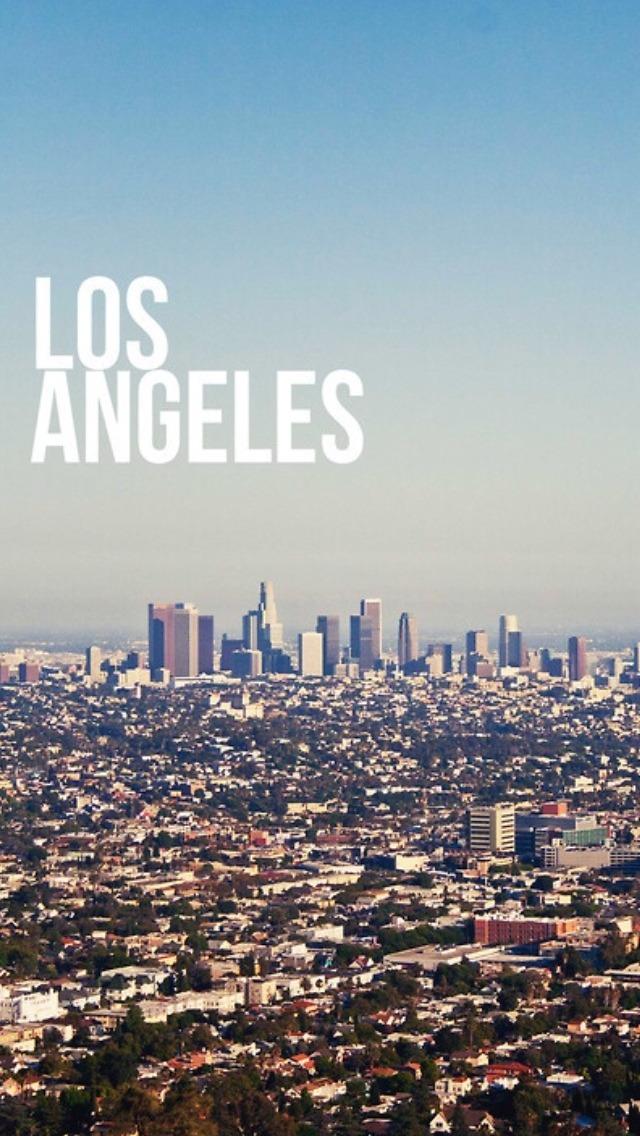 Wallpaper Los Angeles Iphone