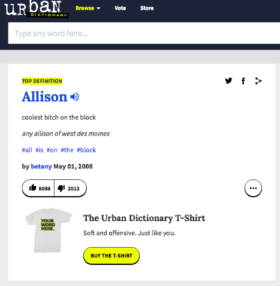 my name in urban dictionary | Tumblr