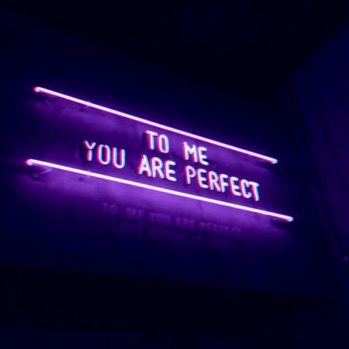 Broken Heart Love Quotes Wallpaper Purple Neon Sign Tumblr