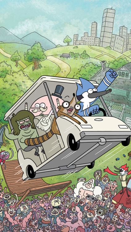 Wallpaper Gravity Falls Iphone Regular Show Wallpaper Tumblr