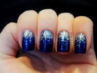 winter nail art on Tumblr