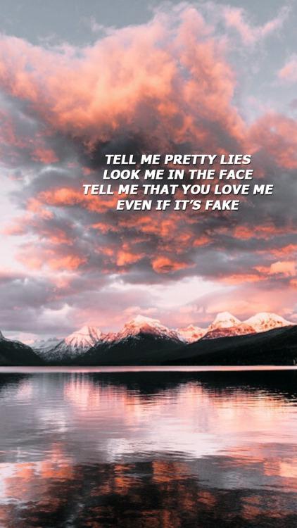 Fall Out Boy Lyric Wallpaper Idfc Lyrics Tumblr