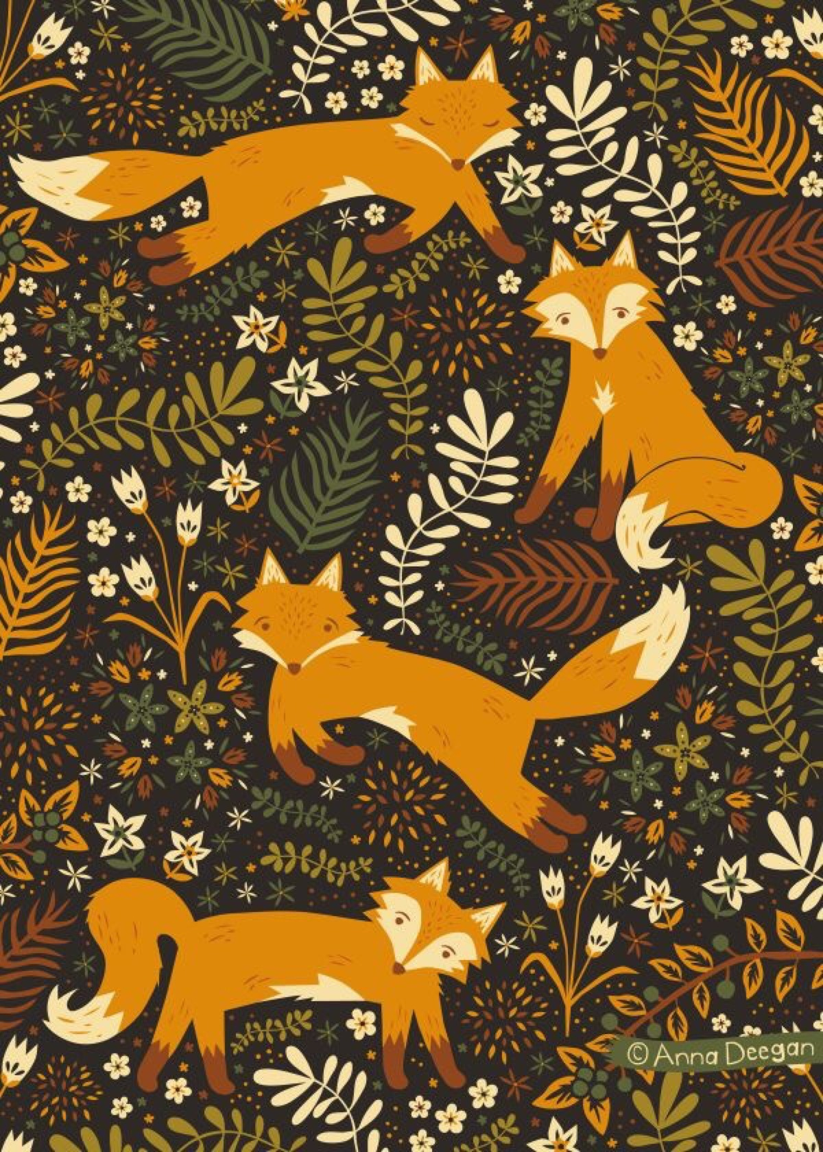 Fall Woodland Creatures Wallpaper A Collection Of Wallpapers