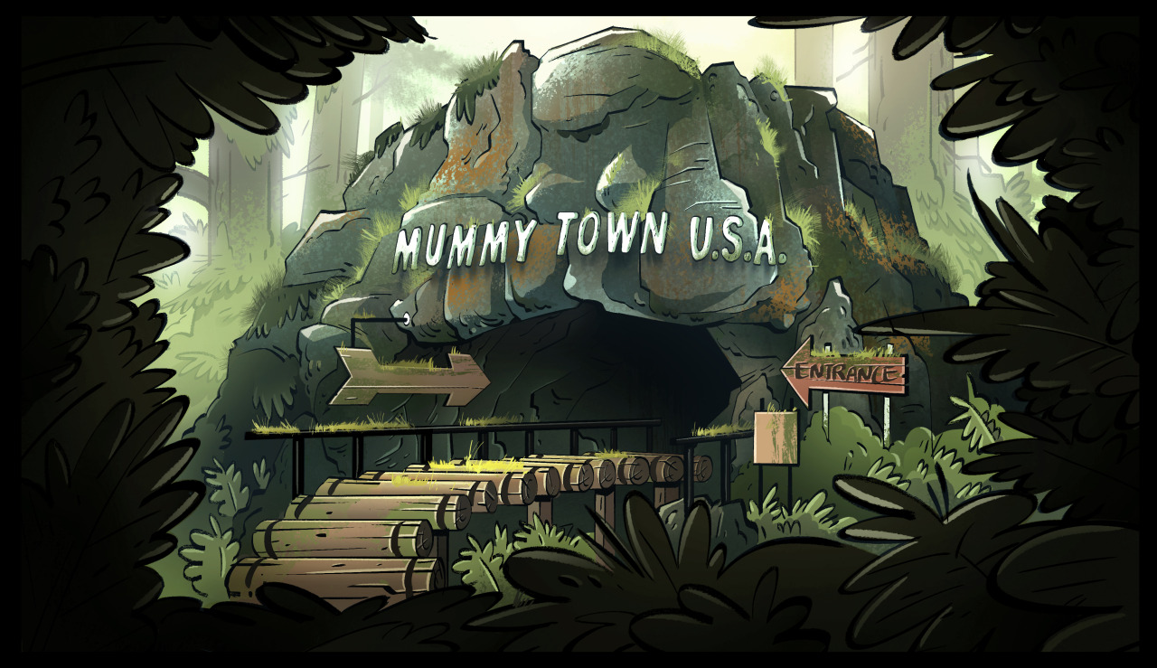 Moveing Gravity Falls Wallpapers Michelle Park Backgrounds That I Worked On For Tonight S