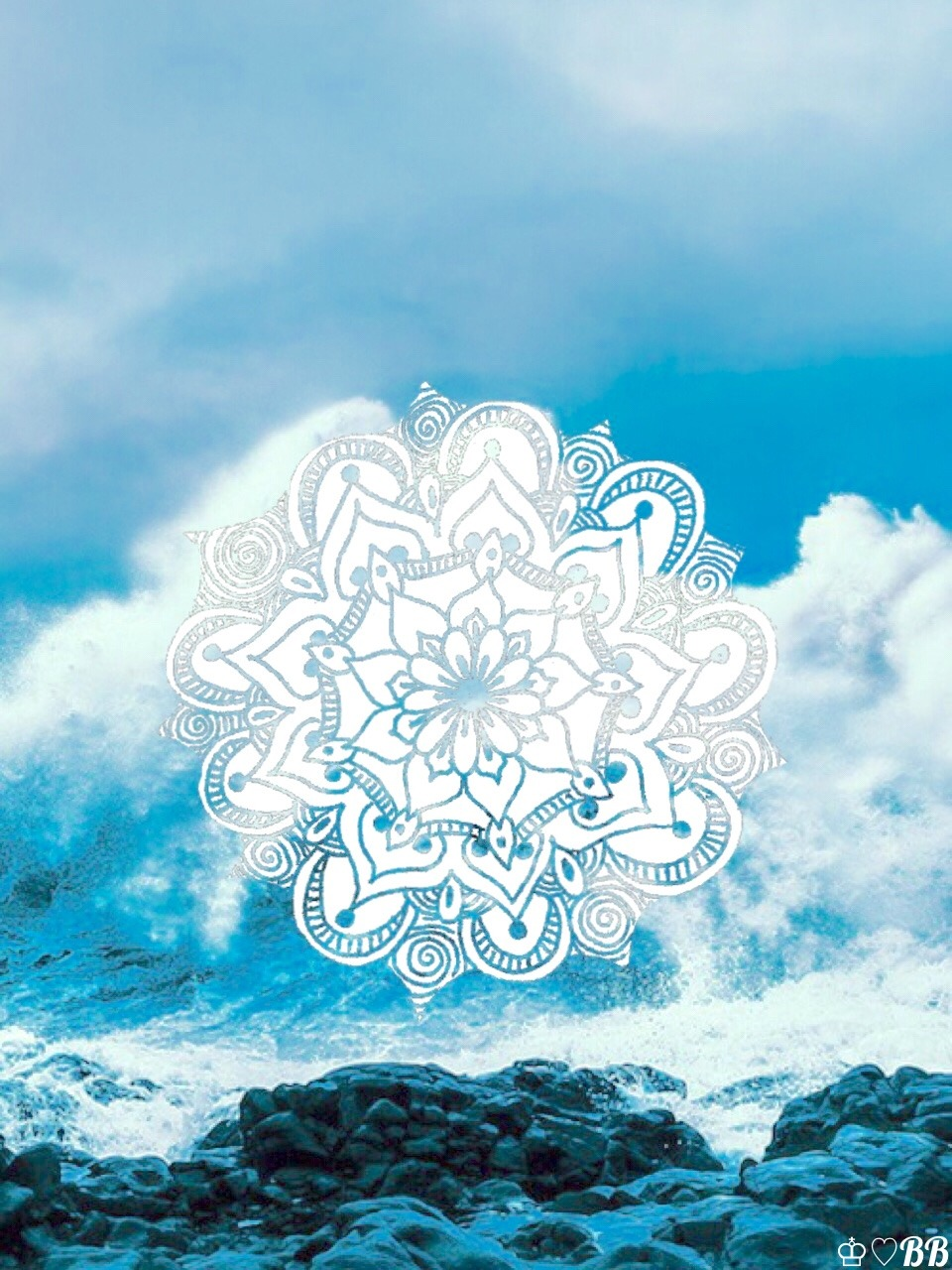 Cute Henna Wallpapers Internet Princesses♡♔ Iphone Android Ocean Background