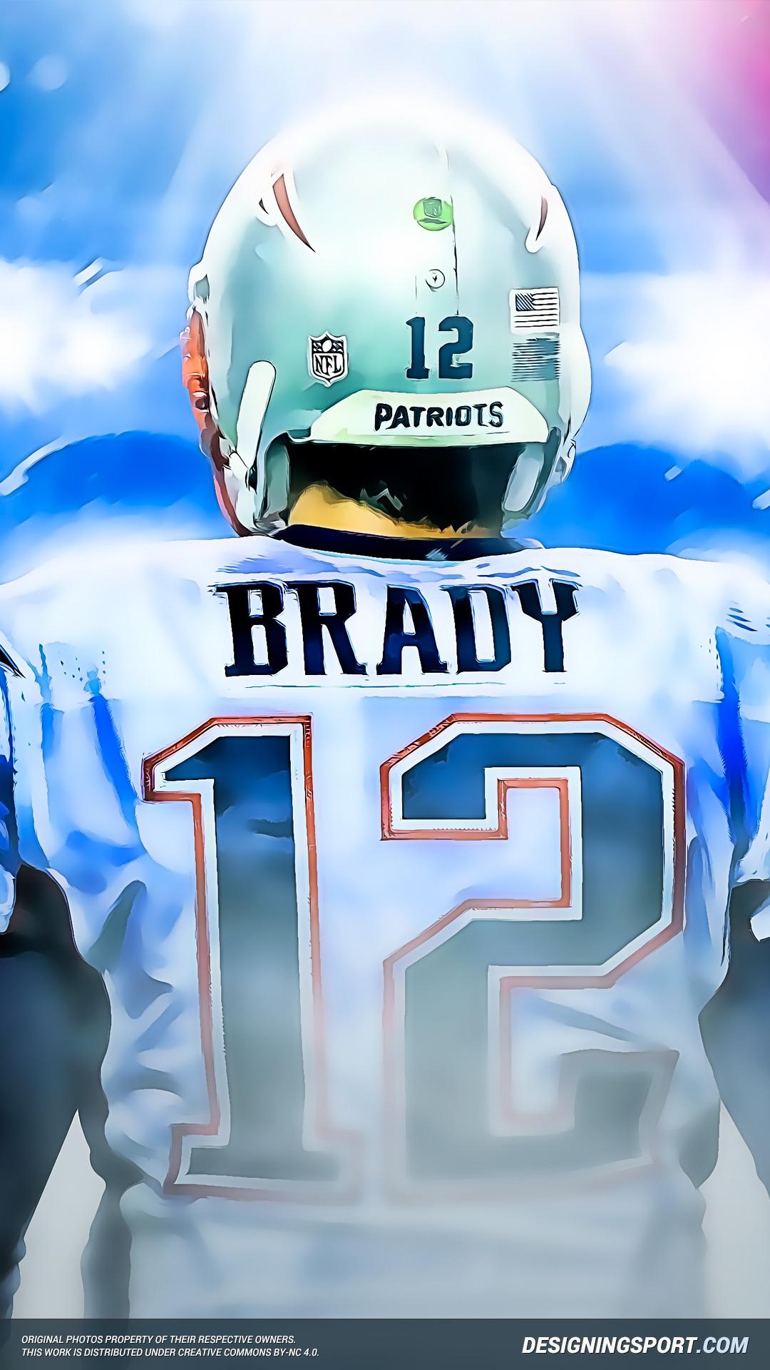 Tom Brady Wallpaper Iphone 7 New England Patriots Hd Wallpaper Pack Vol Ii