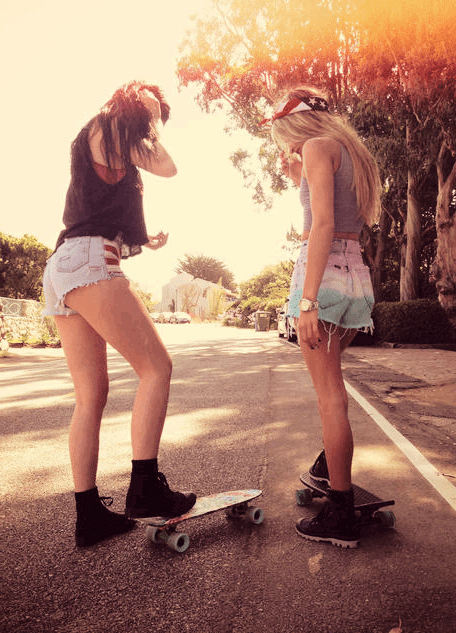 Cute Boy And Girl Friendship Wallpapers Skate Girls On Tumblr