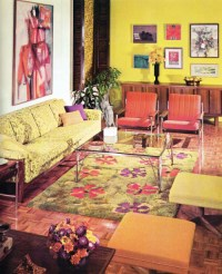 1960s living room | Tumblr